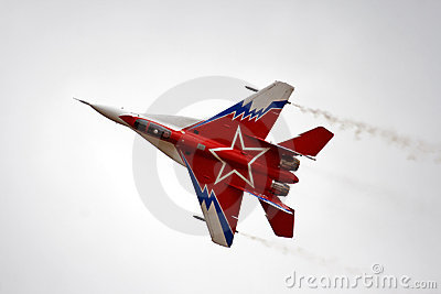 MIG-29 ovt Editorial Photography