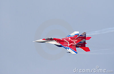 MiG-29OVT jet Editorial Photography