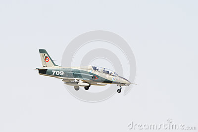 MiG at Bucharest AirShow Editorial Stock Photo