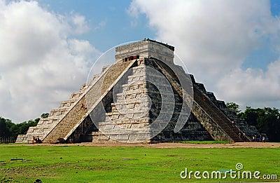 Mighty Kukulkan pyramid