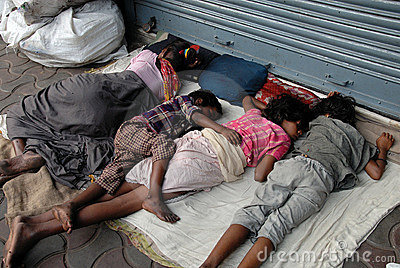 Migrant labour in Kolkata Editorial Photo