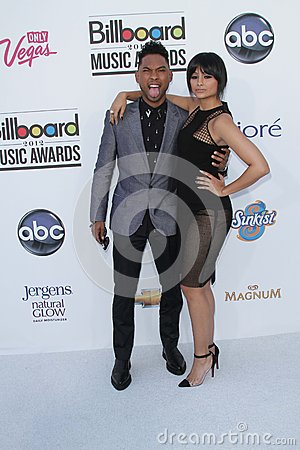 Miguel at the 2012 Billboard Music Awards Arrivals, MGM Grand, Las Vegas, NV 05-20-12 Editorial Photo