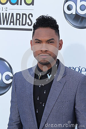 Miguel arrives at the 2012 Billboard Awards Editorial Photography