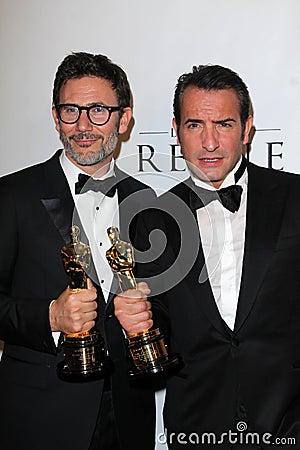 Miguel Hazanavicius, Jean Dujardin Fotografía editorial