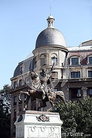Mihai Viteazul statue