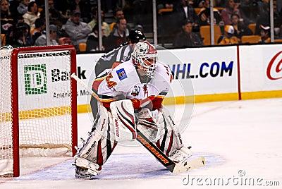 Miikka Kiprusoff Calgary Flames Editorial Photo
