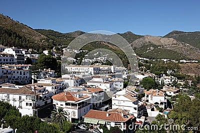 Mijas镇,安大路西亚西班牙
