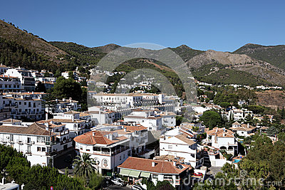 Mijas-Pueblo, Andalusien Spanien