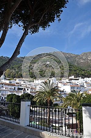 Mijas Spain hillside view