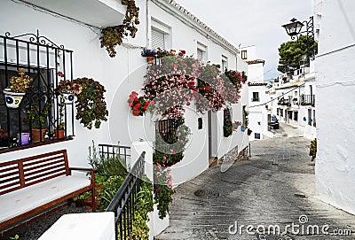 Mijas town, Spain