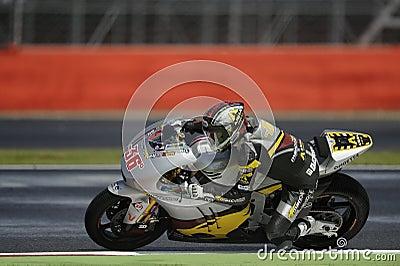 Mika kalio, moto 2, 2012 Editorial Image
