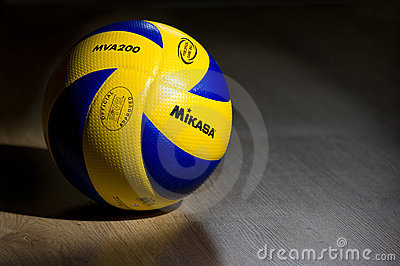 Mikasa FIVB volley ball Editorial Image