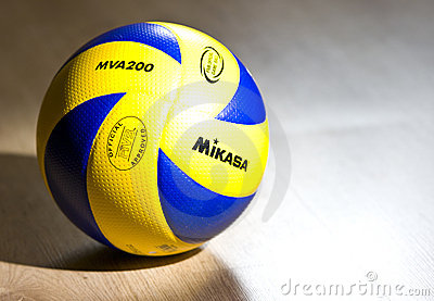 Mikasa official volleyball Editorial Image