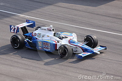 Mike Conway Indianapolis 500 Pole Day 2011 Indy Editorial Image