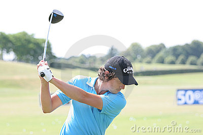 Mike Lorenzo-Vera (FRA) Golf French Open 2009 Editorial Stock Photo
