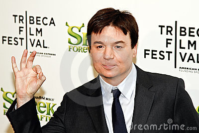 Mike Myers Editorial Image