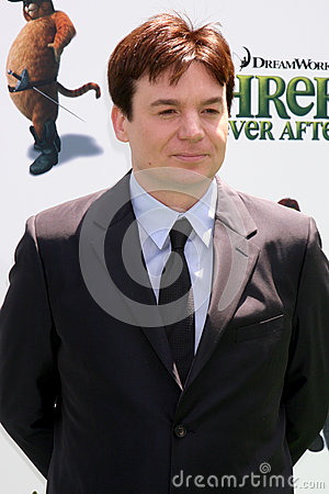 Mike Myers Editorial Stock Photo