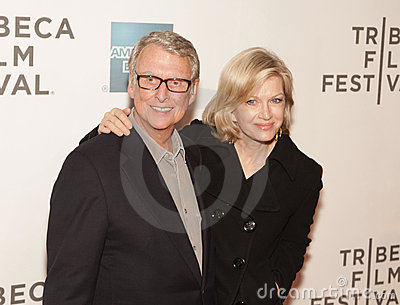 Mike Nichols and Diane Sawyer Editorial Photography