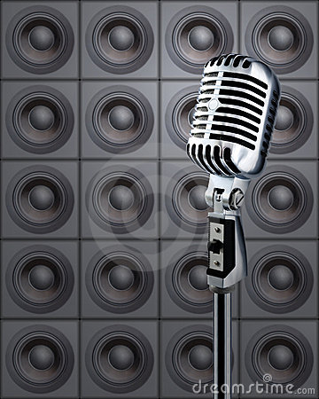 Free Mike&Speakers Royalty Free Stock Photos - 1203418