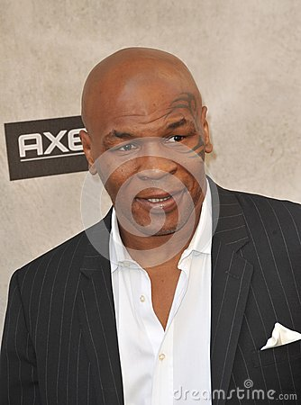 Mike Tyson Editorial Image
