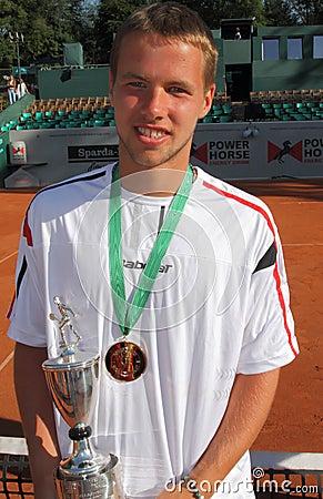 Miki Jankovic Tennis Player Editorial Stock Image