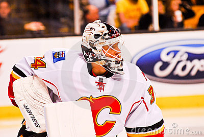 Mikka Kiprusoff Calgary Flames Editorial Photography