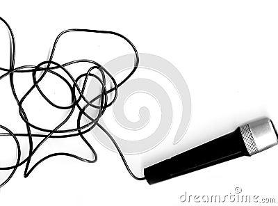 Mikrofon ołowiu