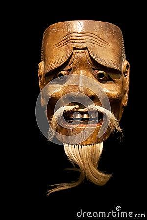Mikzuki (male spirit) Noh mask