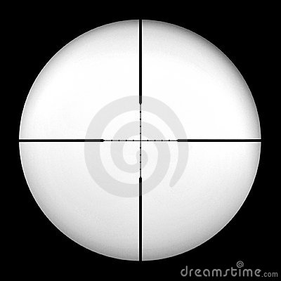 Free Mil Dot Gun Scope Royalty Free Stock Photography - 11234427