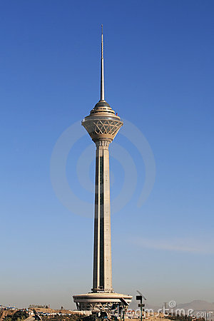 Milad Tower in Tehran, Iran