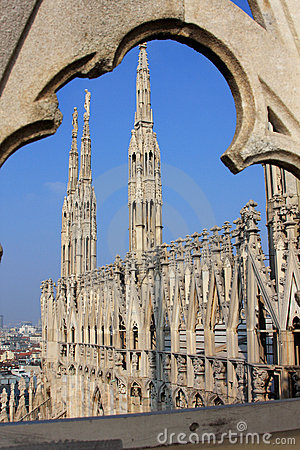 Free Milan Cathedral Royalty Free Stock Photo - 4531845
