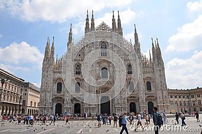 Milan Cathedral - Duomo Editorial Image