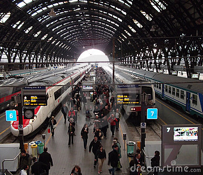 Milan Central Station Editorial Photo