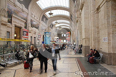 Milan Centrale Editorial Stock Image