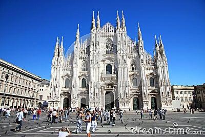 Milan Dome Editorial Stock Image