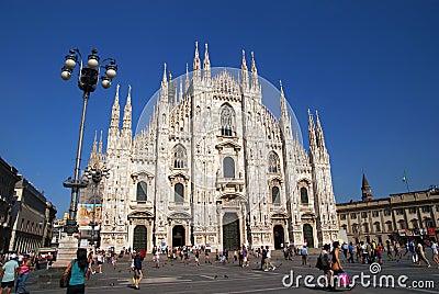 Milan Duomo Editorial Image