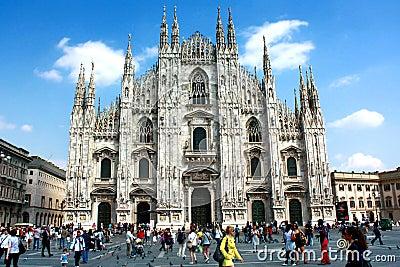 Milan Duomo Editorial Photography