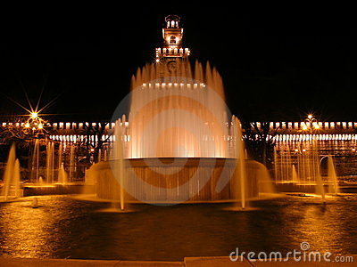 Milan Fountain 1