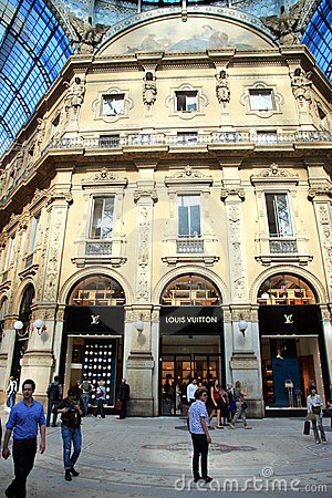 Milan Galleria Editorial Stock Image