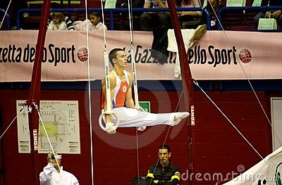 Milan Gymnastic Grand Prix 2008 Editorial Photo