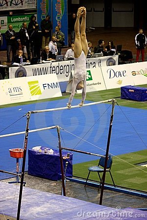 Milan Gymnastic Grand Prix 2008 Editorial Stock Photo