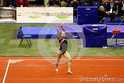 Milan Gymnastic Grand Prix 2008 Editorial Stock Photo