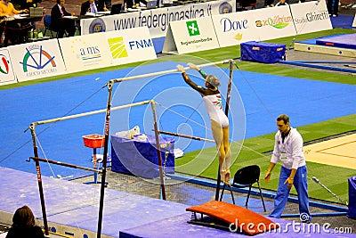 Milan Gymnastic Grand Prix 2008 Editorial Stock Image