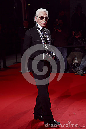 Free MILAN, ITALY - MARCH 02: Karl Lagerfeld Attends The Extreme Beauty In Vogue Party At The Palazzina Della Ragione During Autumn/Win Royalty Free Stock Images - 30068939