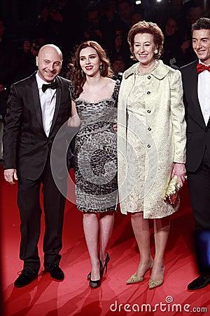 Domenico Dolce, Scarlett Johansson, Letizia Moratti, Stefano Gabbana  attend the Extreme Beauty In Vogue Editorial Image