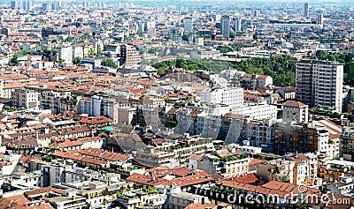 Milan, landscape view