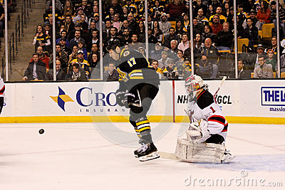 Milan Lucic Boston Bruins #17. Editorial Stock Photo