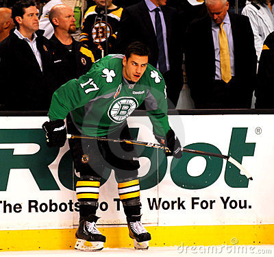 Milan Lucic Boston Bruins Editorial Image