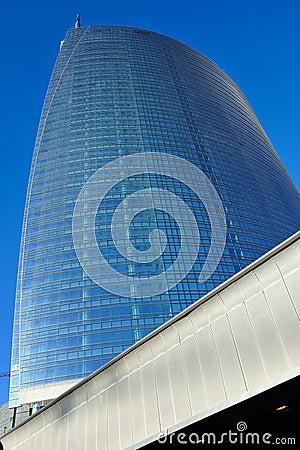 Milan new skyscraper under construction Editorial Stock Image