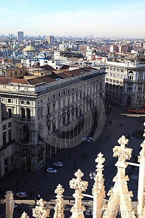 Milan, panoramic view
